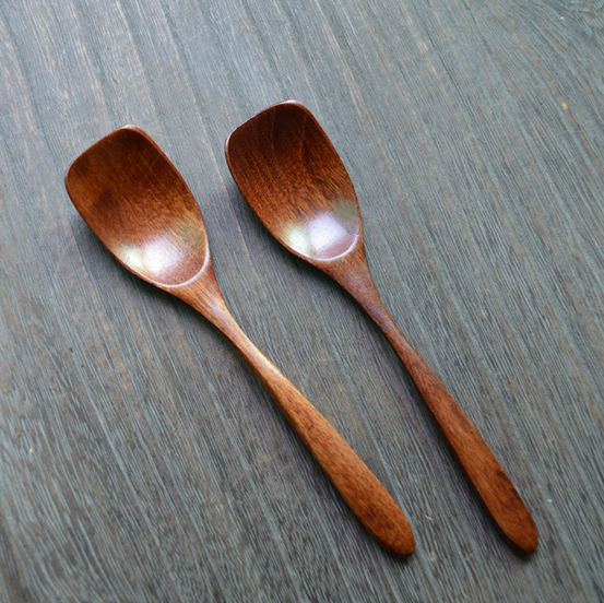 Wooden Shovel Spoon for Rice Soup and Tea