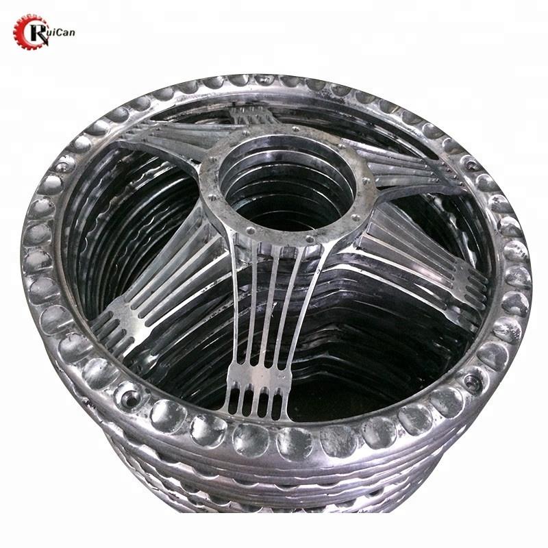aluminium material die casting machining parts car wheel