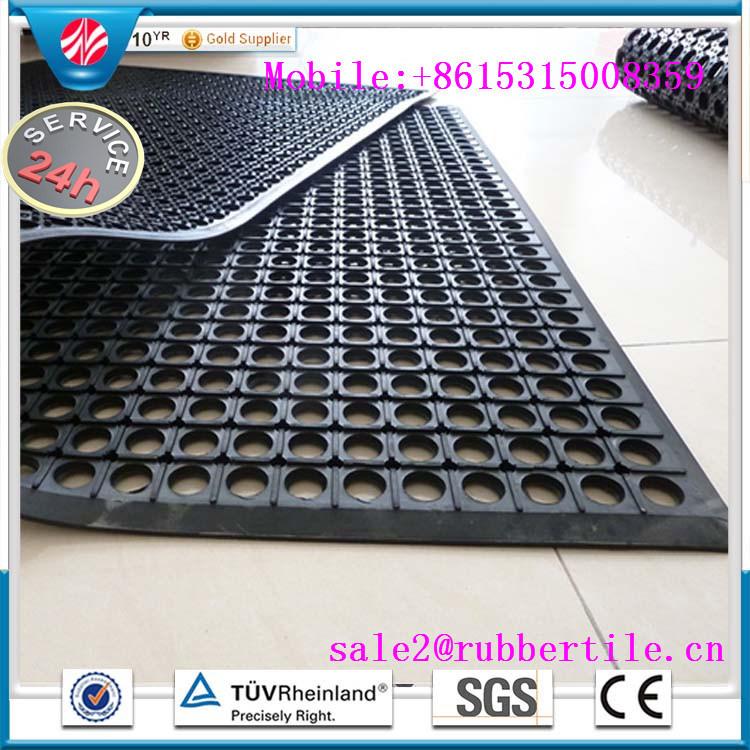 Work Safety Anti-Fatigue Rubber Mats /Drainage Rubber Door Mats (GM0404)