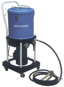 Hand Operated Bucket Lubrication Pump Manual Greaser - 5L