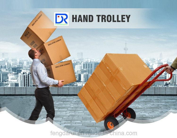 Heavy Duty Hand Trolley Ht4024 with Folding Pallet
