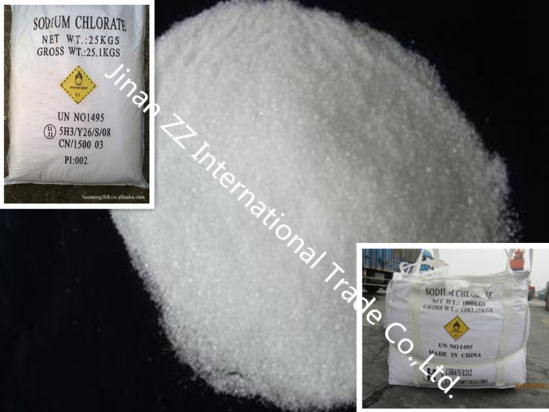 Sodium Chlorate (NaClO3 99.5% min) (accept SGS, BV, Intertek inspection)