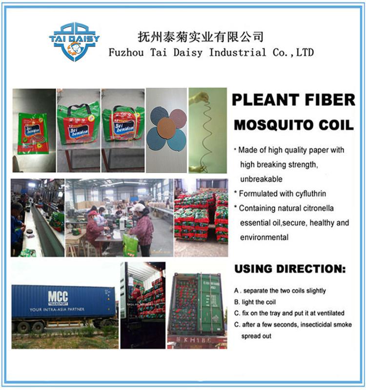 Unbreakable Africa Simpa Tide Plant Fiber Mosquito Coils / Mosquito Repeller