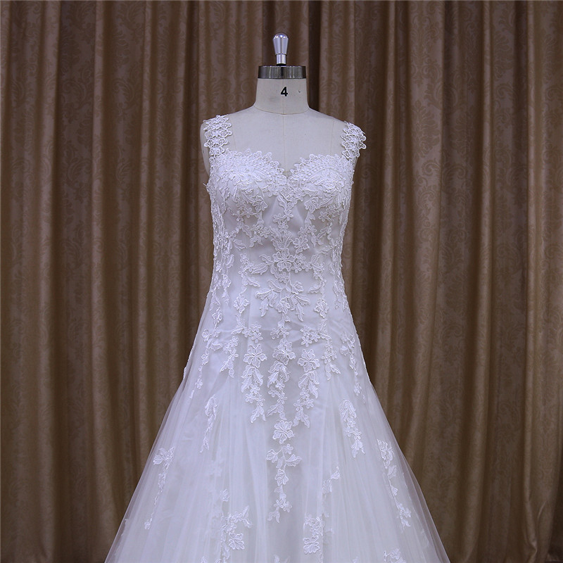 Trendy Beautiful Made by Beauty Bridal Factory Wedding Gown