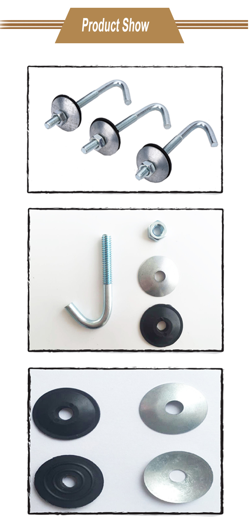 Roofing Bolts Cross Head and Screw with Quality