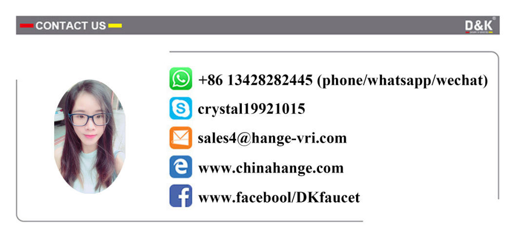 Hange Sanitary Ware Da1432912 Kitchen Tap Kitchen Faucet Sink Faucet