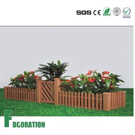 Outdoor DIY WPC Planter, Waterproof WPC Flower Box