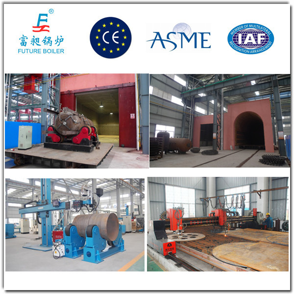 Chinese 800kg/H Oil Fired Steam Generator