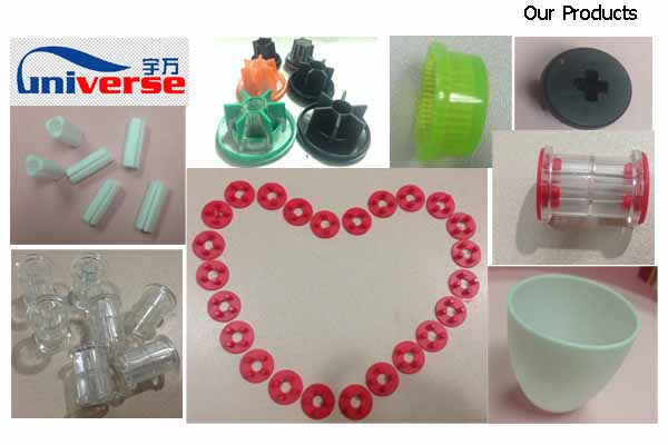 Custom Plastic Parts for Pipe Fittings