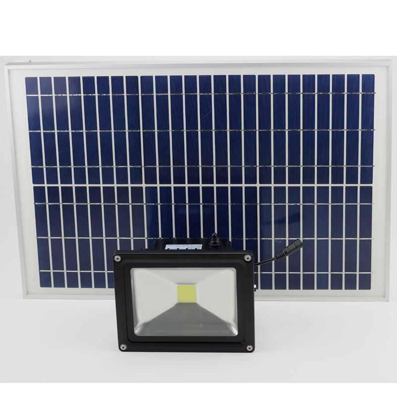 Remote Control IP65 Solar Power LED Lamp Outdoor Garden Security Gutter Spot LED Flood Light
