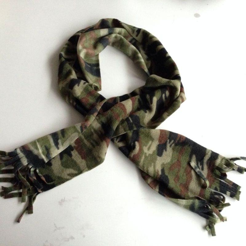 Polar Fleece Scarf Wholesale Cheapest Polyester Fleece Custom Design Scarf