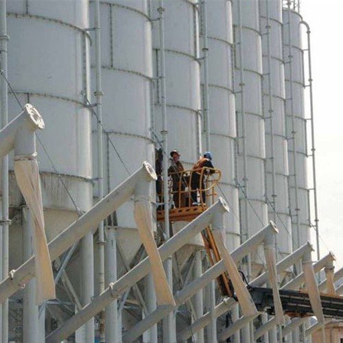 Large Capacity Augers Flexible Elevator Screw Conveyor