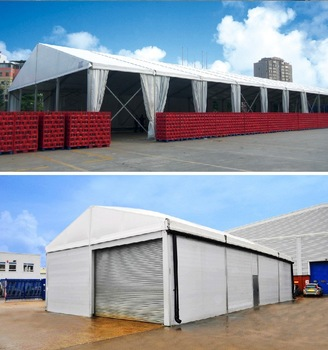 Rubb Hall Tents for Storage, Temporary Warehouse Tent Structures for Storage