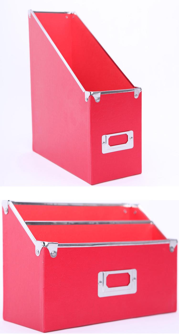 Durable Cardboard Desktop Stationery Paper Storage Box