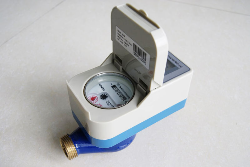 Prepaid Brass Touchless Water Meter 1/2