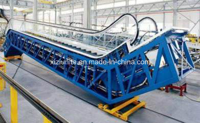 Vvvf Control Commercial Escalator with 30 Degree 1000mm/800mm/600mm Step Width