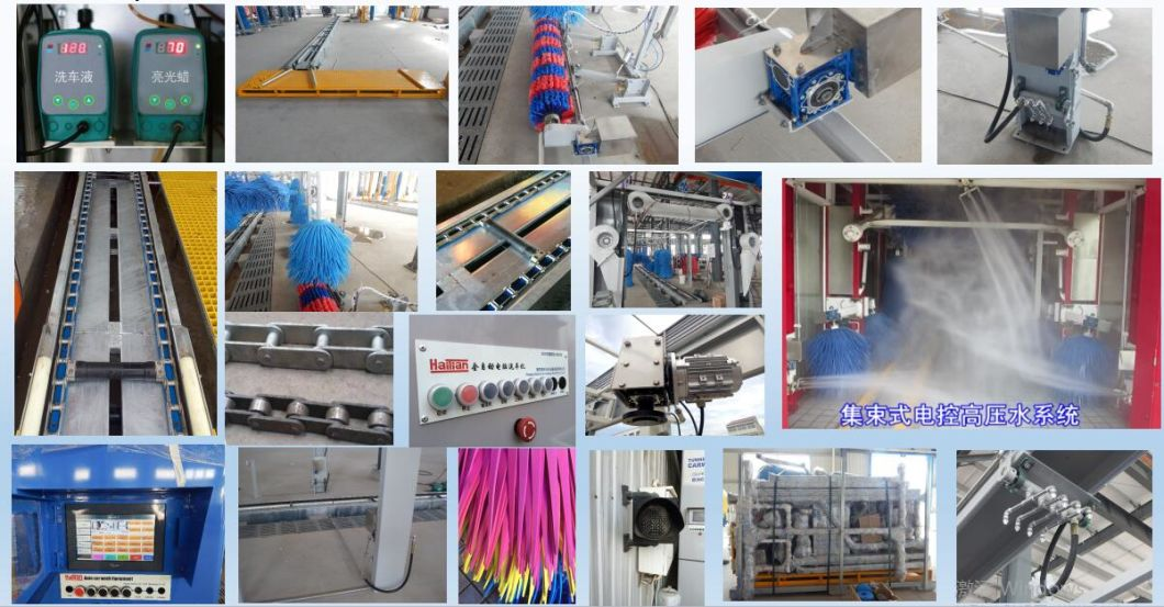 Tx-380bf Automatic Car Wash Machine From China Leading Factory