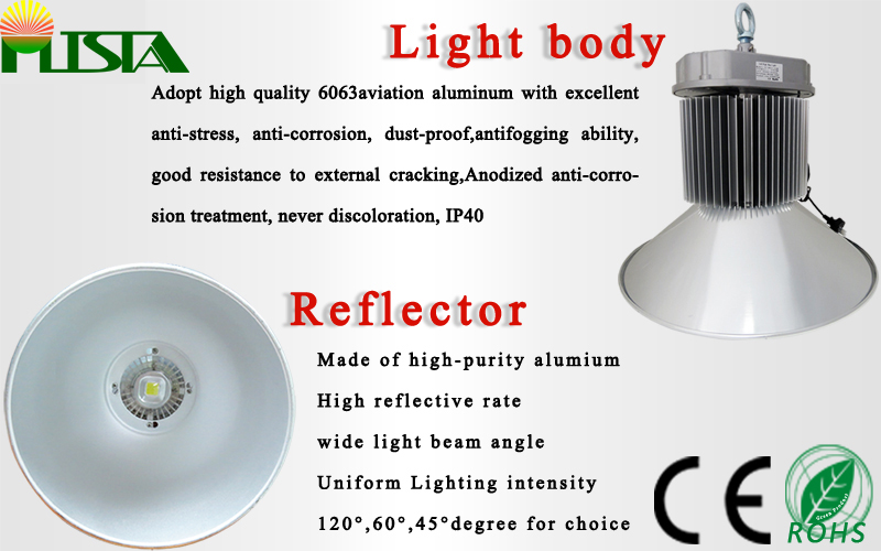2016 New LED High Bay Lamp 150W 120lm/W Bridgelux Chip