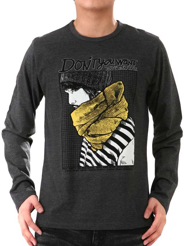 Printing Fashion Cotton Custom White and Black Men T Shirt