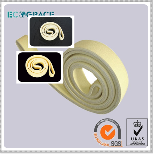 Heat Resist Seamless Pbo / Kevlar Aramid Conveyor Insulation Felt Timing Belt for Aluminum