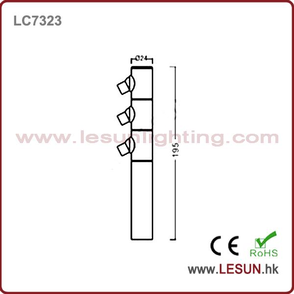 Energy Saving 3W Standing LED Jewelry Light /Display Lighting LC7323
