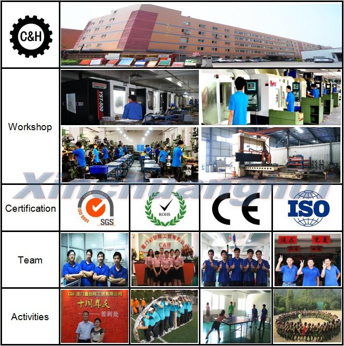 Xiamen Custom Precision Aluminum Steel CNC Machining Parts