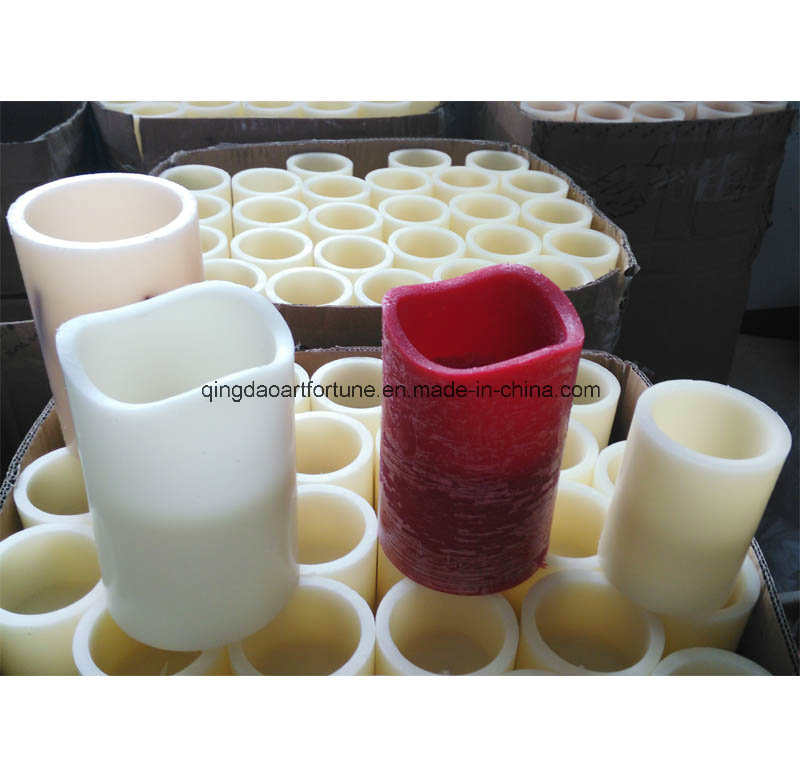 3 Layer Scented LED Wax Candle for Wholesale