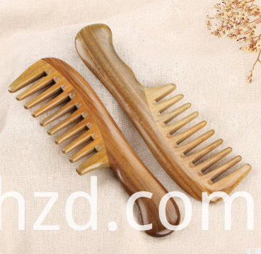 wide tooth comb with handle