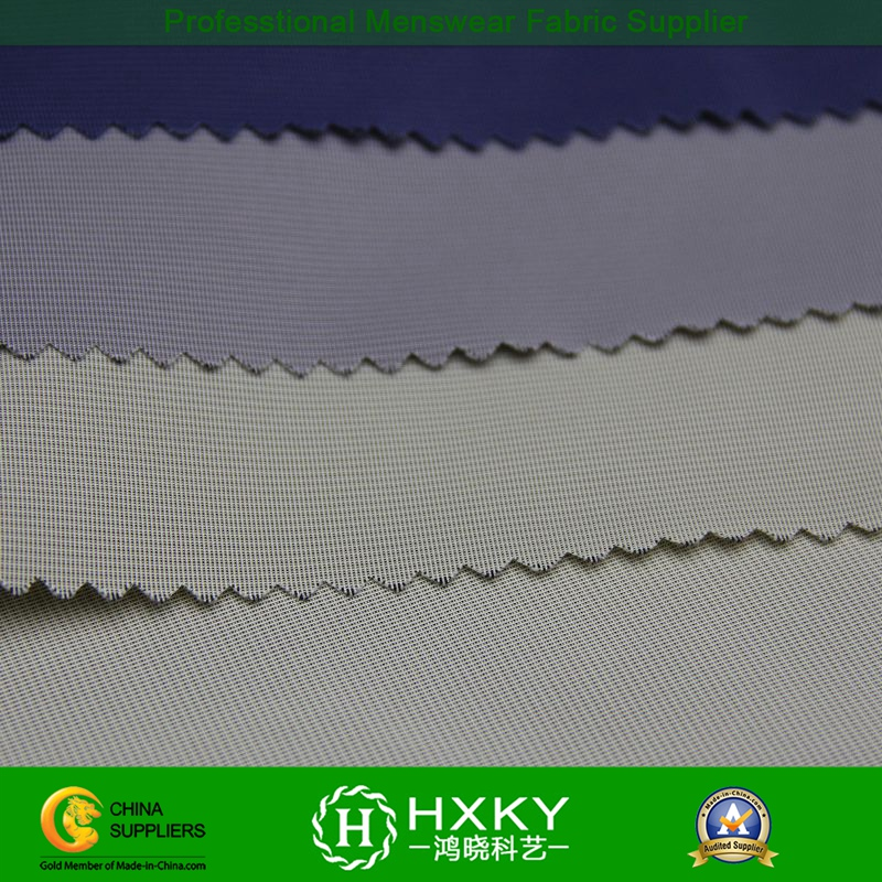 Breathable Semi Memory Poly Fabric for Men's Trench