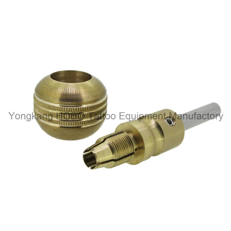 Hot Sale Cartridge Tattoo Tube Brass Self-Lock Tatto Grips 35mm