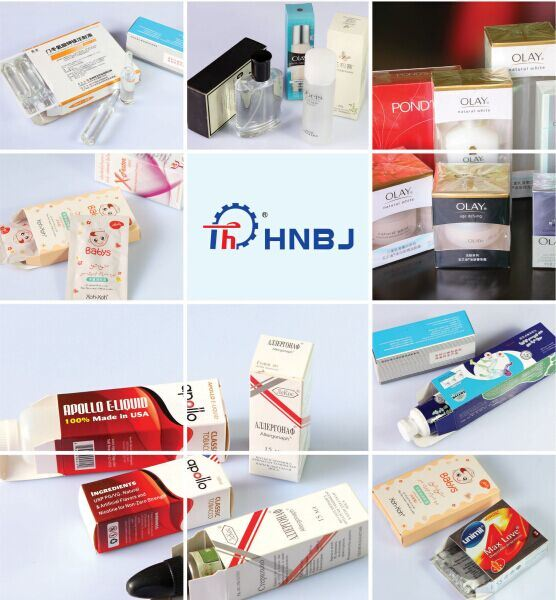 Automatic Shisha Tobacco Cigarette Carton Machine with Celofan Film
