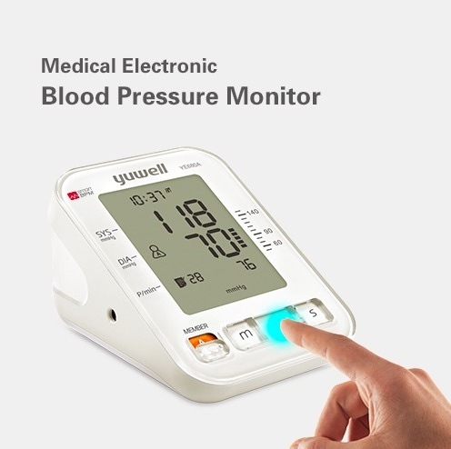 Arm-Type Electronic Sphygmomanometer with CE