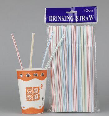 Disposable Dark Green Straight Starbucks Straw