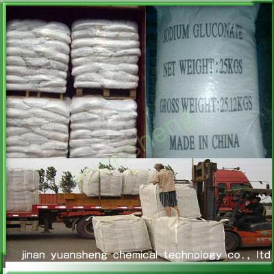Retarder-Sodium Gluconate (industry grade) -CAS: 527-07-1-Concrete Admixture