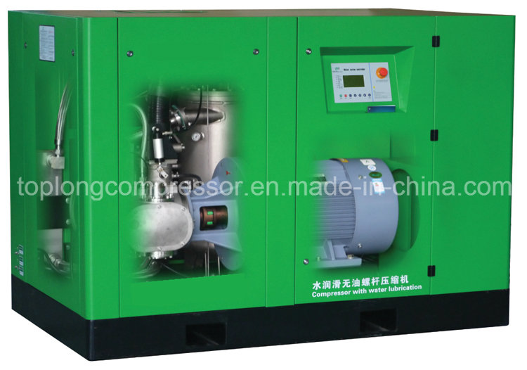 Top Class Oilless Compair Air Screw Compressor