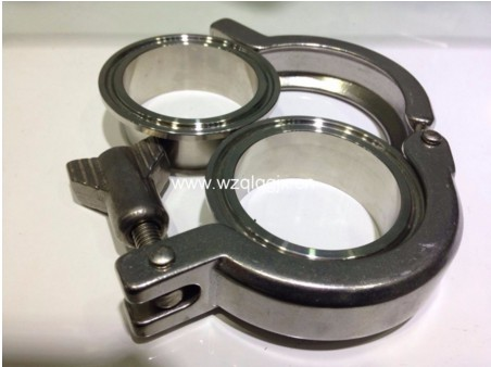 Sanitary Stainless Steel Pipe Fitting Clamp