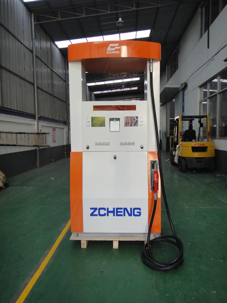 Zcheng IC ID Card Fuel Dispenser Single Nozzle