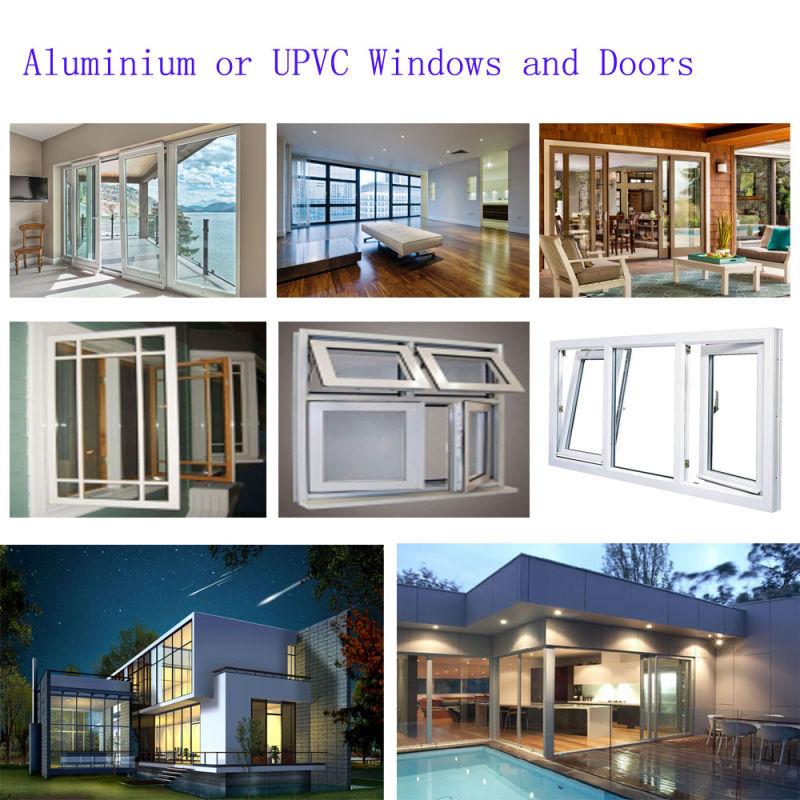 Hot Sale Sliding UPVC Aluminum Window