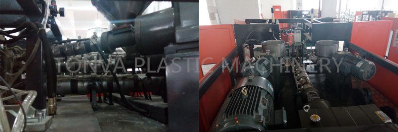 Single Station Oil Pump Bottle Plastic Blow Molding Machine