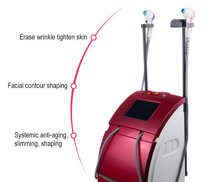 40.68MHz Fractional RF Thermo Lift Bipolar Skin Tightening Equipment