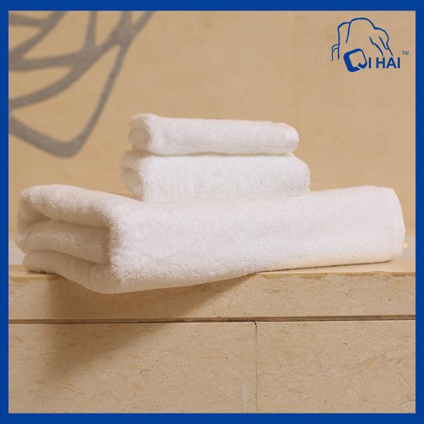 100% Cotton Bath White Towel (QH998321)