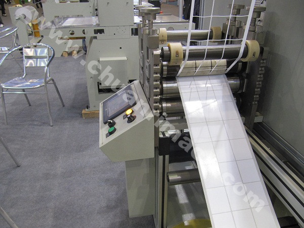 Non Adhesive Labels, Protective Film, Packaging Films, Rotary Die Cutting Machine