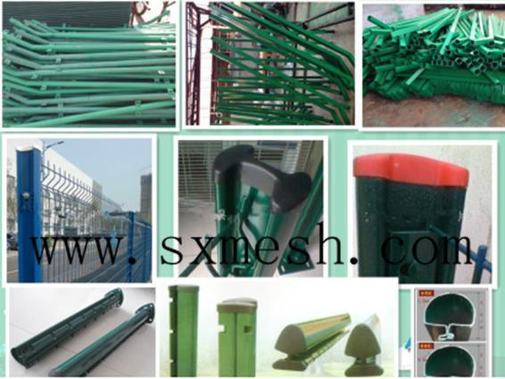 Canada Standard Cheap PVC Coated Temporary Fence/Galvanized Metal Construction Temporary Fence