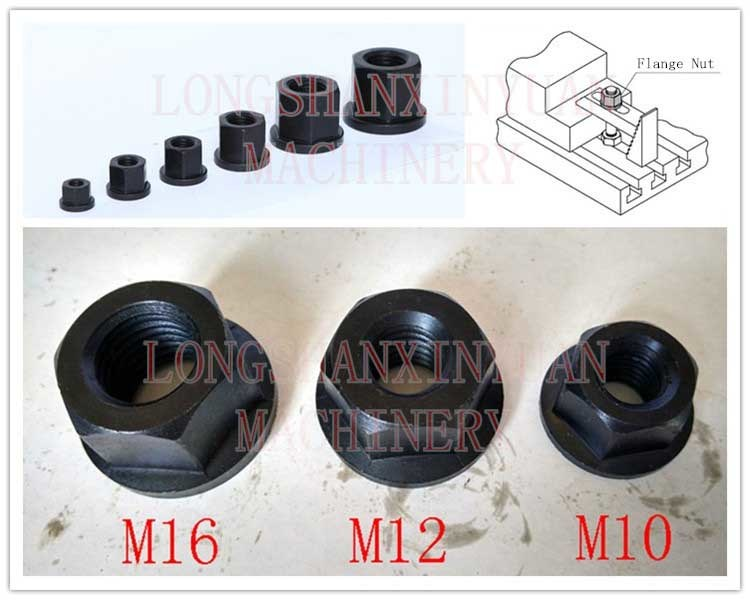 M36 Deluxe Steel High Hardness Flange Nut