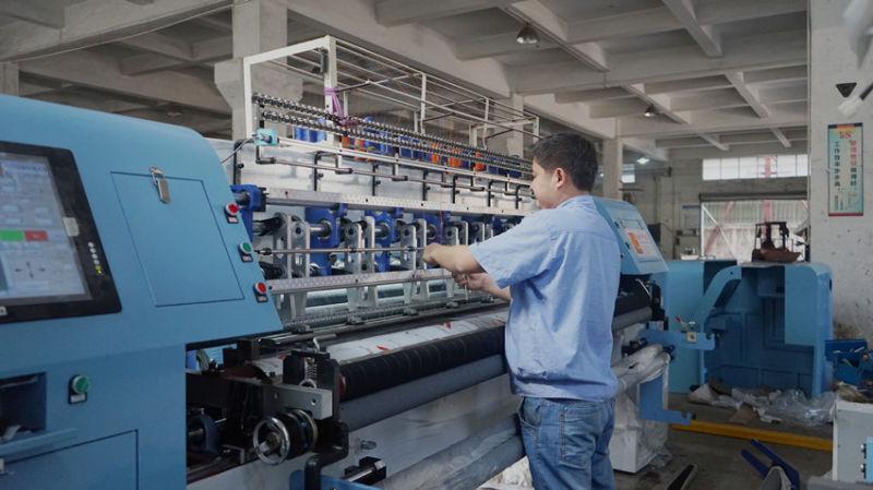 Shuttle (lock stitch) Multi-Needle Quilting Machine for Comforter, Garments