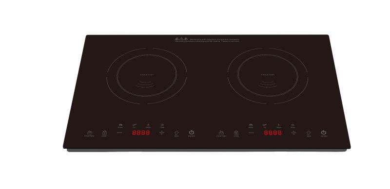 2017 Newest ETL CETL 120V 1800W double burners Induction Cooktop Model SM-DIC16