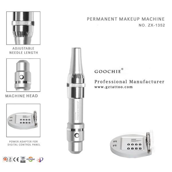 Goochie A8 Rotary Rocket Pmu Machine for Eyebrow, Eyeliner, Lip