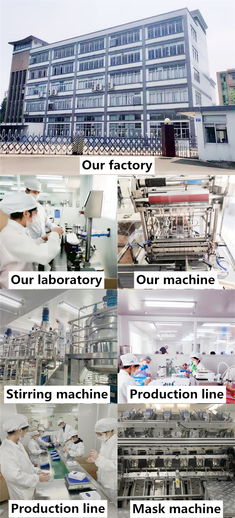 skincare factory