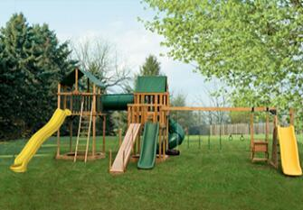 PP Combination Steel Wire Roep Accessory for Playground with Thimbeles