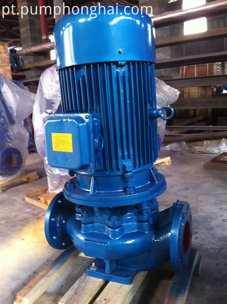 ISG cast iron material pump
